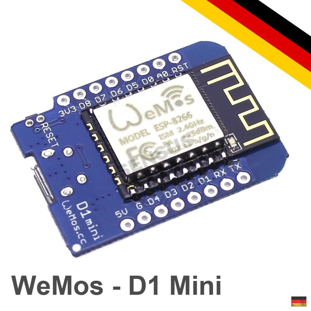 Wemos d mini arduino nodemcu mlua wifi esp